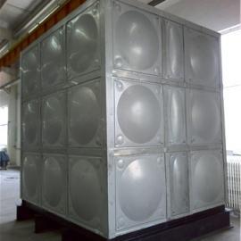 腾瑞达50吨吨不锈钢消防水箱含8个镍模压块