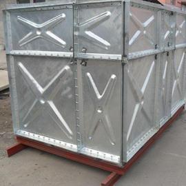 腾瑞达10吨镀锌消防水箱10*5*2