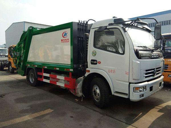 7吨压缩垃圾车