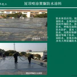 屋顶喷涂聚脲防水涂料 屋顶防水