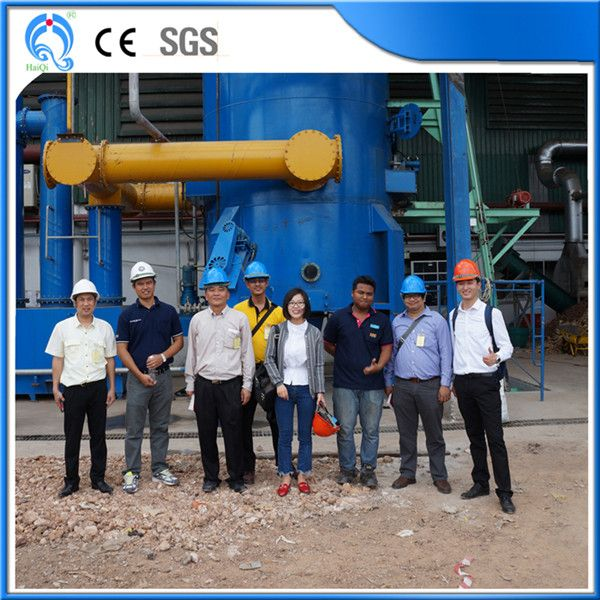 海琦生物质热解气化发电 碳气肥电联产 一人值守安全运行