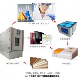 板材甲醛实验检测方法:气候箱法