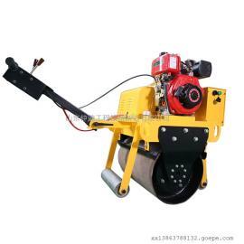 小型手扶式压路机厂家 单轮振动压路机价格图片
