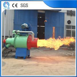 厂家直销海琦生物质木粉燃烧机 烧坏换新砂光粉燃烧炉 自动控温