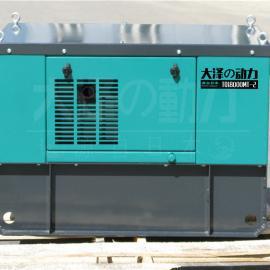 18w三相柴油发电机静音箱式