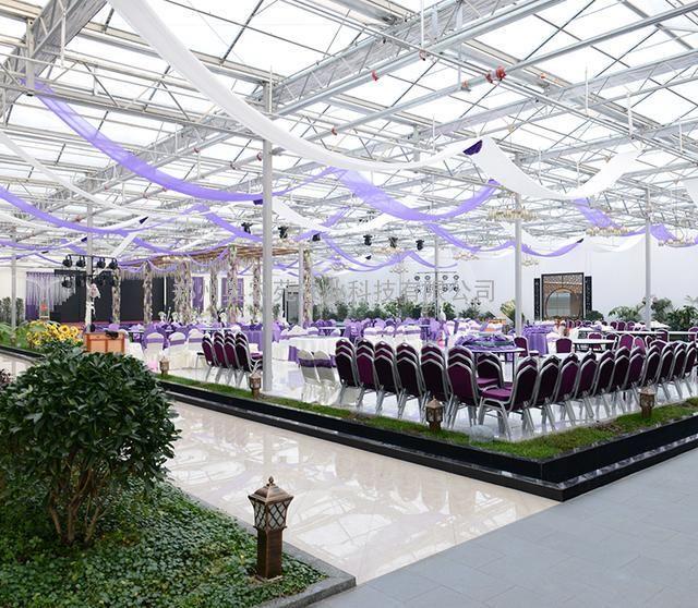生态园餐厅设计 生态餐厅温室大棚建造 生态餐厅设计方案