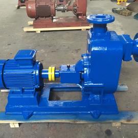源头厂家直销ZW防爆自吸泵 工业污水自吸泵 卧式铸铁自吸泵