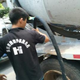 搅拌车翻新喷砂机好用吗-搅拌车清理的干净吗