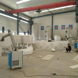 清岚承接各种pp加工喷淋塔吸收塔洗涤塔三相分离器搅拌罐溢流堰