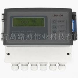食品厂污水沉淀污泥检测LBU-100 超声波污泥浓度计