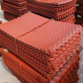 喷漆、防滑菱形钢笆片工厂尺寸定做&3.5公斤一张钢板钢笆片