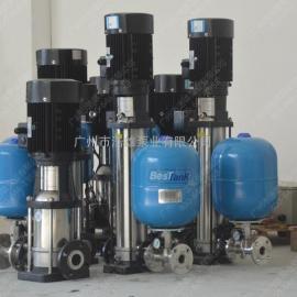不锈钢恒压变频水泵_自动增压水泵_管道加压变频水泵机组