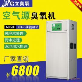 启立QLA-60g大型水处理臭氧发生器 纯水厂臭氧灭菌机 臭氧杀菌机