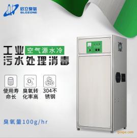 启立QLA-100G工业废水消毒 水产养殖处理消毒设备 臭氧发生器