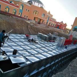 BDF复合热镀锌材质地埋式箱泵一体化(抗浮地埋水箱)