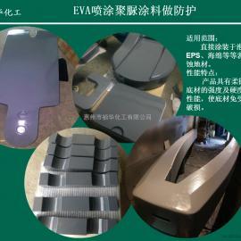 户外使用EVA喷涂聚脲涂料做防护