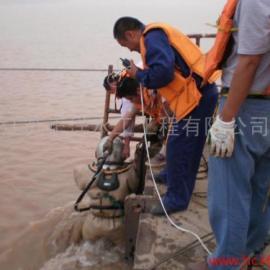 水下割桩施工队