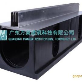 HDPE成品线性排水沟 排水沟盖板塑料排水沟厂家现货