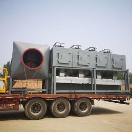 有机废气处理选用催化燃烧设备,活性炭废气吸附脱附技术