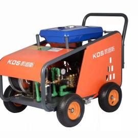 凯迪斯G20/41RZ高压清洗机汽油动力工业大流量污水地沟油疏通机