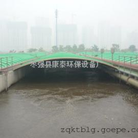 污水处理除臭系统 污水池加盖 玻璃钢拱形盖板