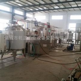 牛奶生产线|牛奶加工成套生产线