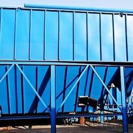 翻砂铸造0.75吨熔炼电炉除尘器360度旋转侧吸顶吸尘罩效果展示