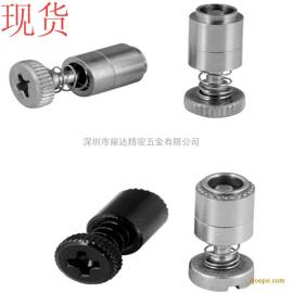 弹簧螺钉PFS4-M3-40/62压铆不脱出螺钉 十字不锈钢松不脱螺丝