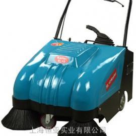 电动扫地机器人手推式道路垃圾清扫车工厂车间用洒水扫地车工业