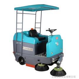 大型工厂扫路电动吸尘扫地机公园学校物业用机械臂驾驶式清扫车