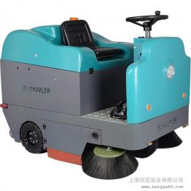 KL1400B工厂道路公园清扫车露天仓库企业单位电动洒水吸尘扫地机