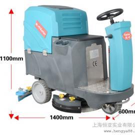 HY70驾驶式自动洗地机商场办公刷地免维护洗地吸水一体洗地车