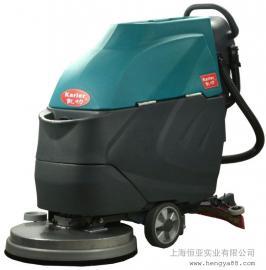 多功能洗地机工业全自动擦地机工厂洗地车商用电动手推式刷地机