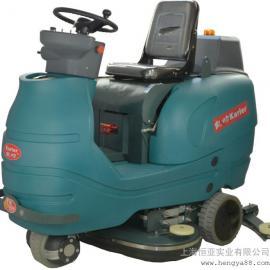 现货洗地机驾驶式洗地机全自动洗地机工业超市用电瓶式洗地机