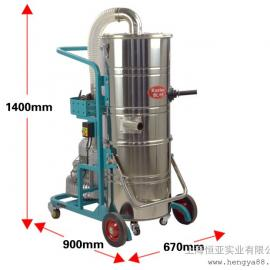 凯叻KL2210强力工业吸尘器工厂车间粉尘颗粒商用大型干湿吸尘机
