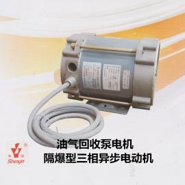厂家批发供应370W油气回收防爆电机 隔爆型三相异步电动机380V