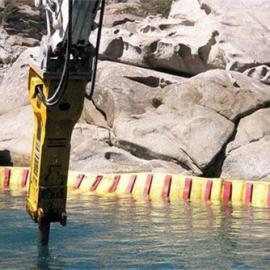 混凝土围堰水下打孔