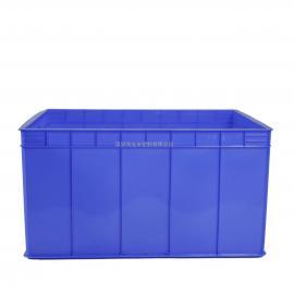 折叠天地盖围板箱周转箱PP塑料中空板HDPE周转箱商家主营