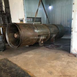2*55KW隧道风机/送风1000米隧道风机