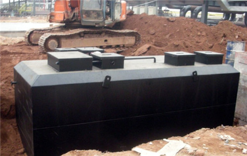 多级一体化生活污水处理装置