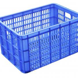 中空板周转箱|蓝色塑胶万通板纸箱式包装箱