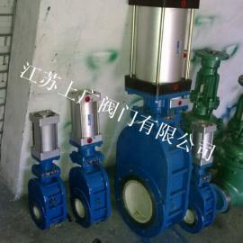 Z674TC-10C气动陶瓷出料阀