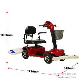 凯叻驾驶式四轮尘推车工业物业候车厅仓库超市机场洗地拖地机