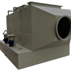 卧式酸雾喷淋净化塔,卧式废气洗涤塔,喷淋处理塔