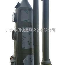 PP废气洗涤塔安装,PP酸雾喷淋塔