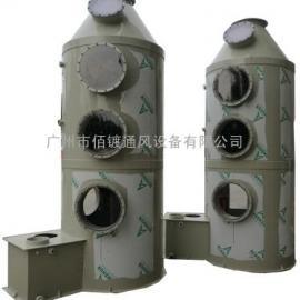 PP废气吸收塔设计,PP酸雾净化塔,PP酸雾处理塔