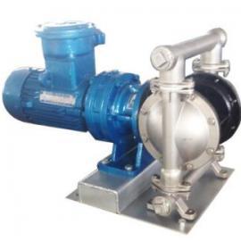 厂家直销DBY-25铝合金电动隔膜泵 无泄漏电动隔膜泵 普通/防爆型