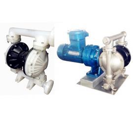 DBY-15工程塑料电动隔膜泵厂家选型报价 聚丙烯隔膜泵 耐酸碱泵