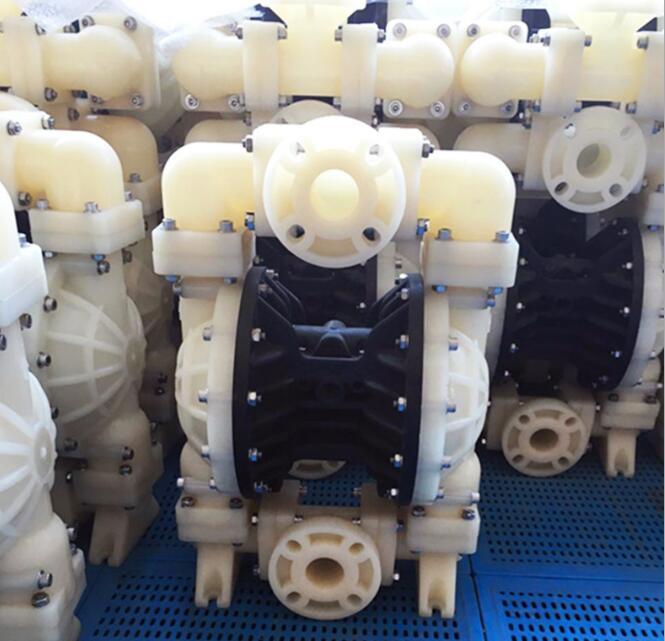 DBY-80型氟塑料电动隔膜泵生产厂家 申银机械隔膜泵制造商