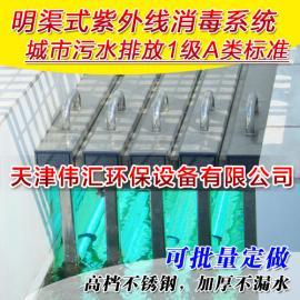 【厂家直销定制】明渠式埃消毒器 水处理设备公用抗菌抗菌器